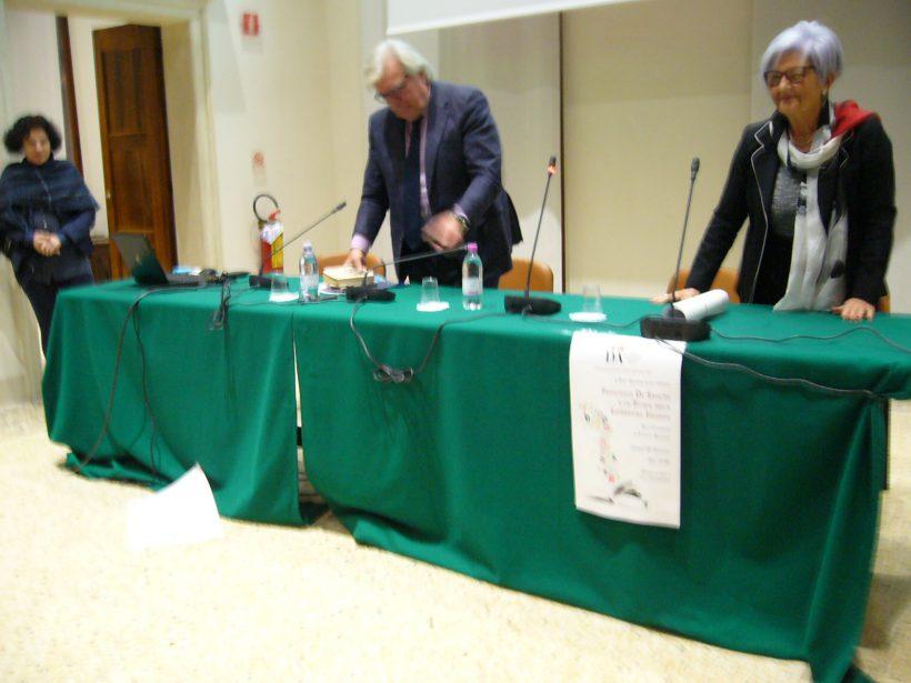 Mirella Rigobello, pres, Dante e Antonio Lodo